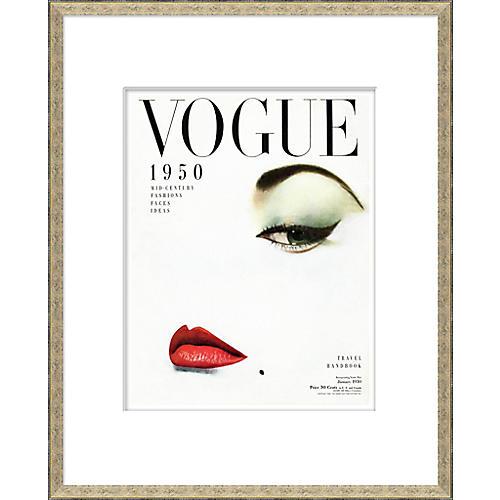 Vogue Magazine Cover, 1950 Mid-Century