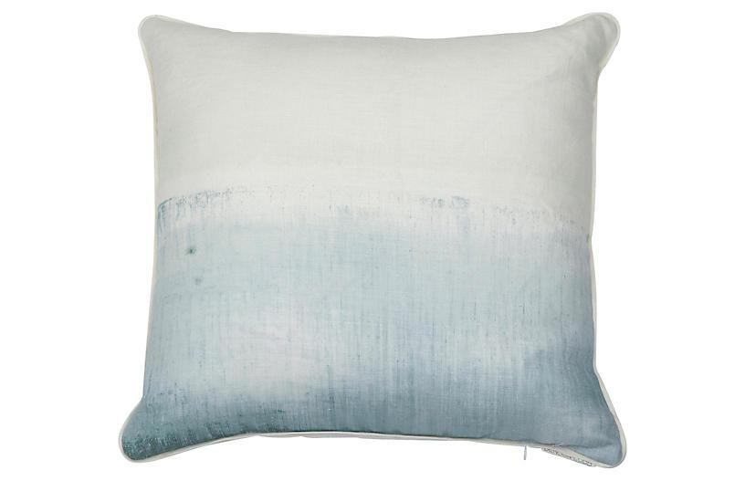 Seascape pillow