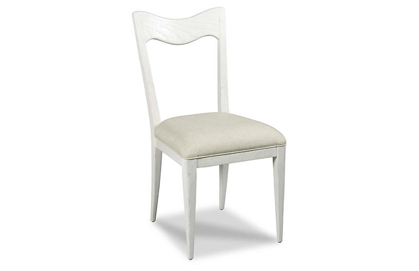 Silhouette Side Chair, Alabaster