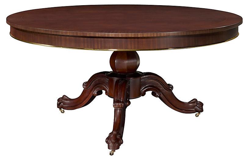 Heiress Dining Table, Estate Mahogany