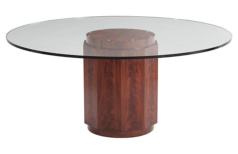 Perrin Dining Table, Penthouse Mahogany