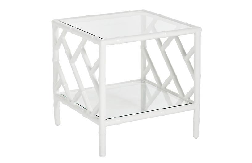 Kit Side Table, White