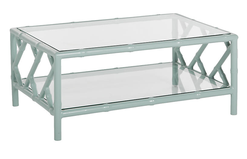 Kit Coffee Table, Celadon