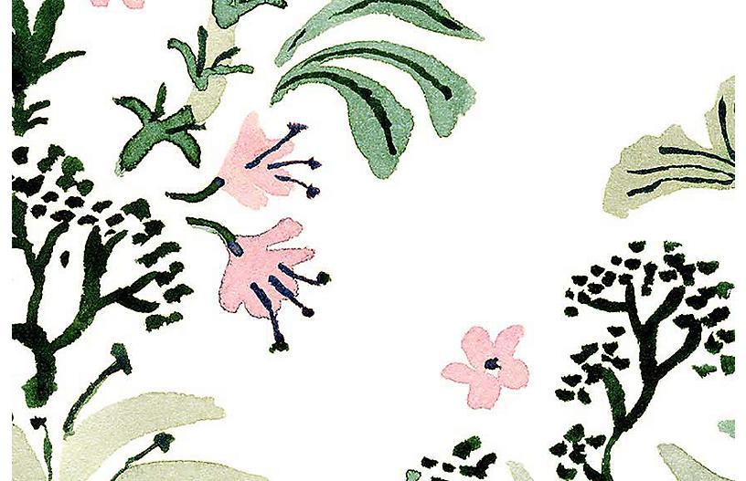 Vikki Chu Lg. Dino 1 Wallpaper, White