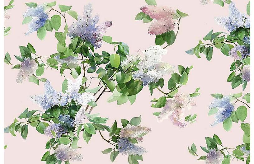 Helen Strom Lg. Lilas Wallpaper, Pink