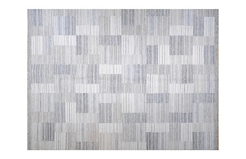 Vesper Flat-Weave Rug, Cream