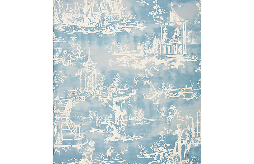 Summer Palace Wallpaper, Sky
