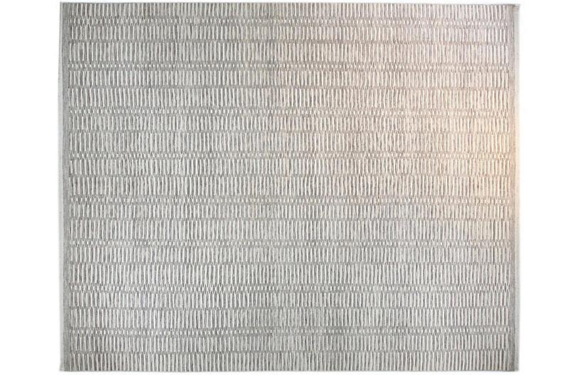 12'x15' Soho Rug, Ivory/Gray