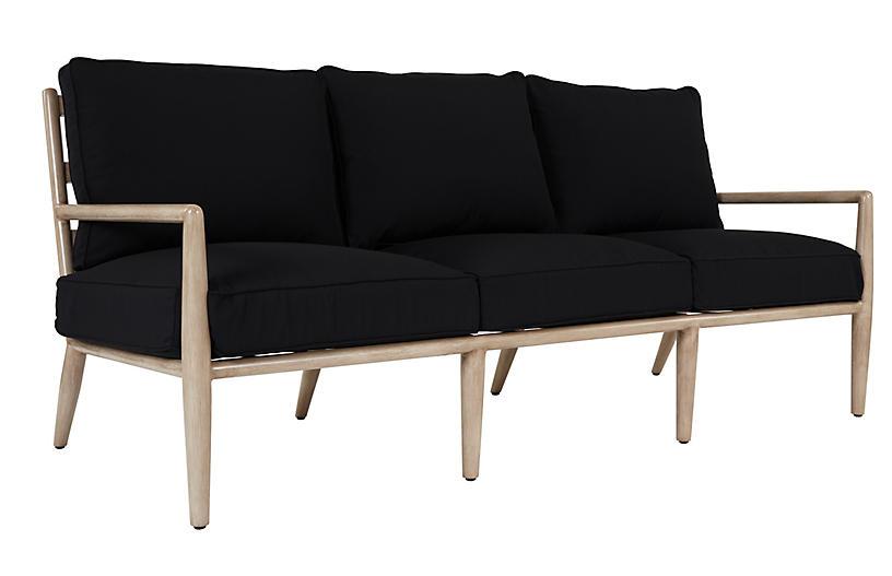 Siena Sofa, Black