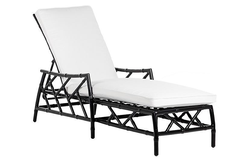 Kit Chaise, Black/White