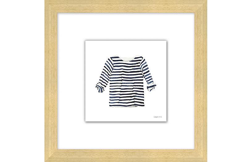 Sara Fitz, Striped Shirt