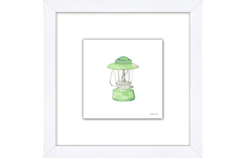 Sara Fitz, Vintage Lantern