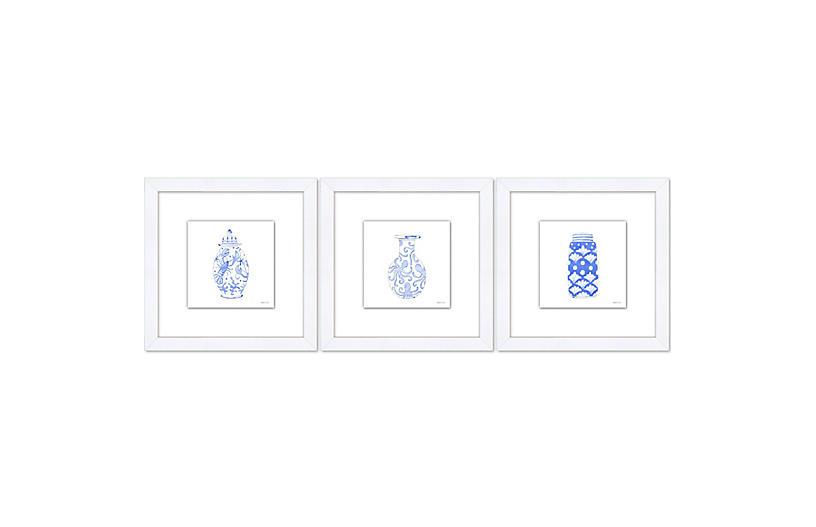 Sara Fitz, Porcelain Jars Set