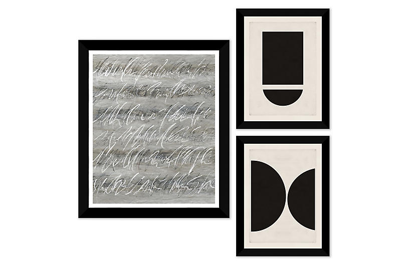 The Curator, Gallery Set of 3