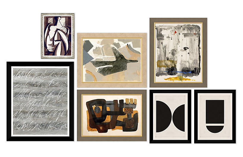 The Curator, Gallery Set of 7