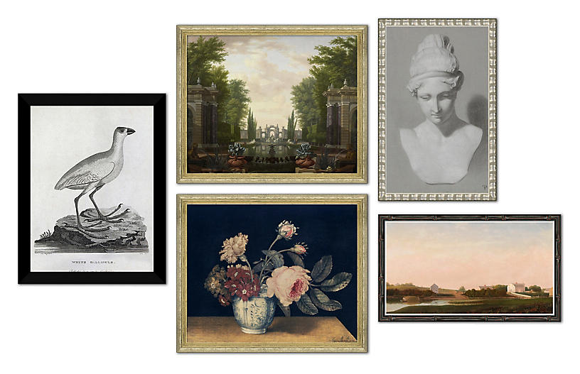 The New Traditionalist, Gallery Set of 5