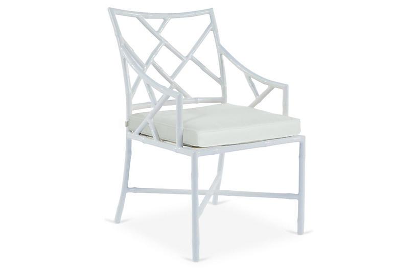 KitArmchair Replacement Cushion, White