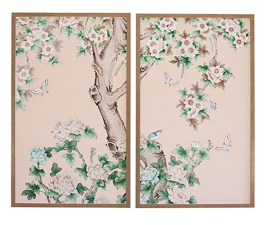Butterfly Tree Diptych, by Dawn Wolfe & Ariel Okin