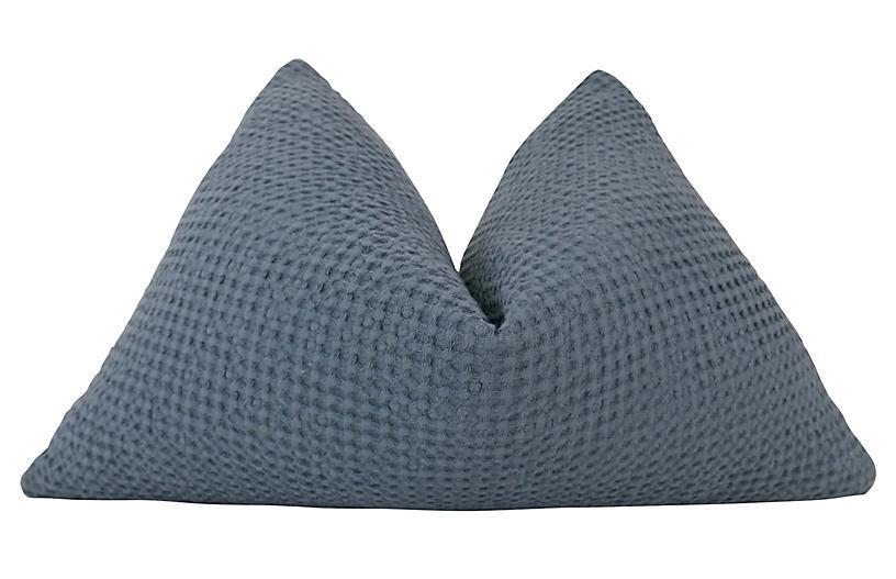 Mendocino 25x16 Pillow, Blue/White