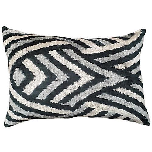 Laney 16x24 Lumbar Pillow, Black