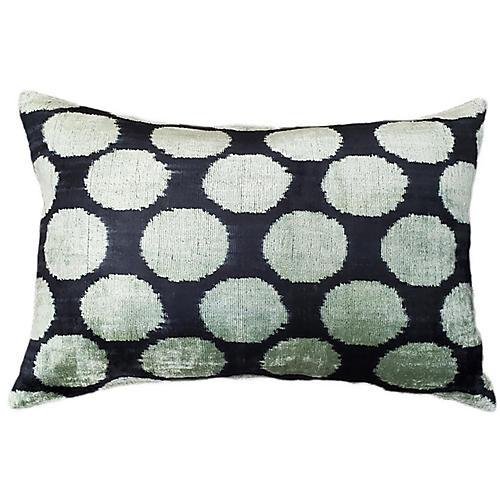 Kira 16x24 Lumbar Pillow, Black