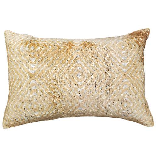 Tara 16x24 Lumbar Pillow, Beige