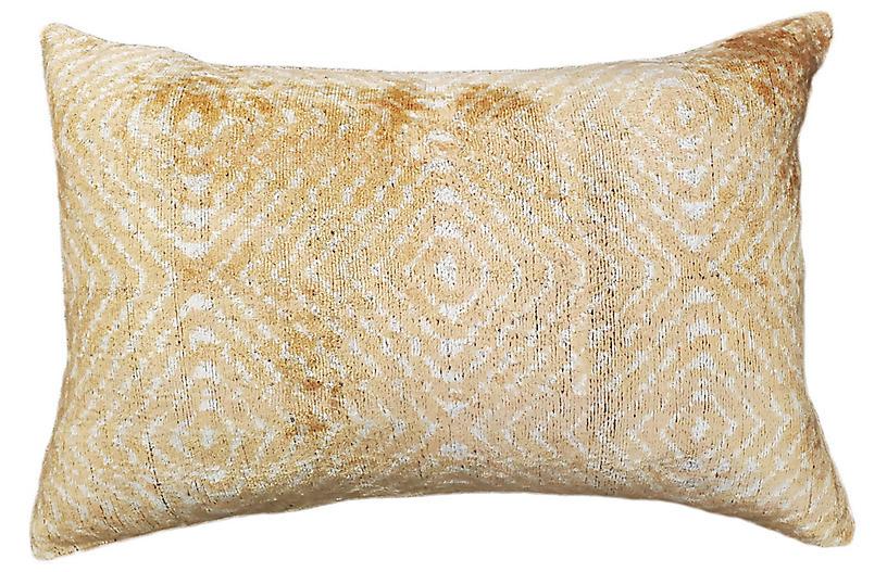 Tara Lumbar Pillow, Beige