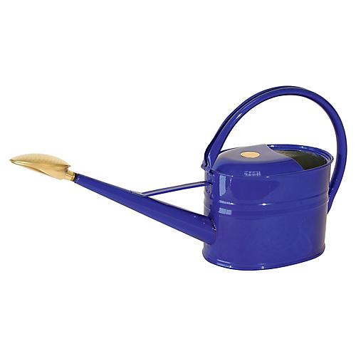"25"" Grove Slim Watering Can, Sapphire"