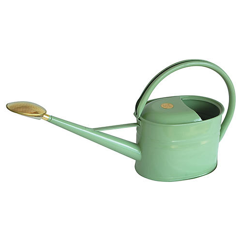 "25"" Grove Slim Watering Can, Sage"