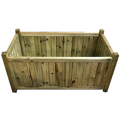 "39"" Pandora Outdoor Planter, Natural"