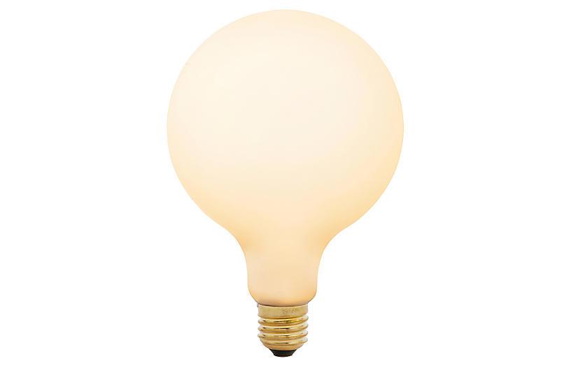 6W Porcelain III Light Bulb, Porcelain