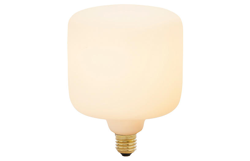 6W Oblo Light Bulb, White