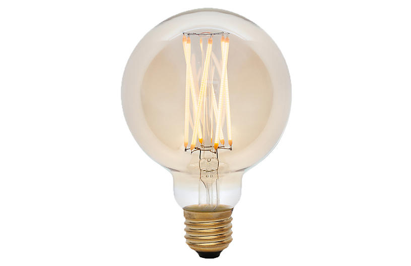 6W Elva LED Light Bulb, Tinted