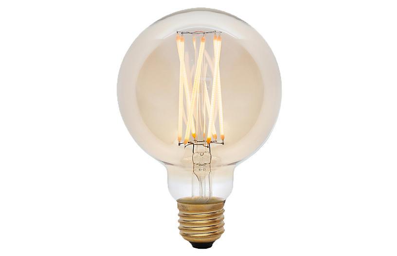 6W Elva Tinted Light Bulb, Tinted