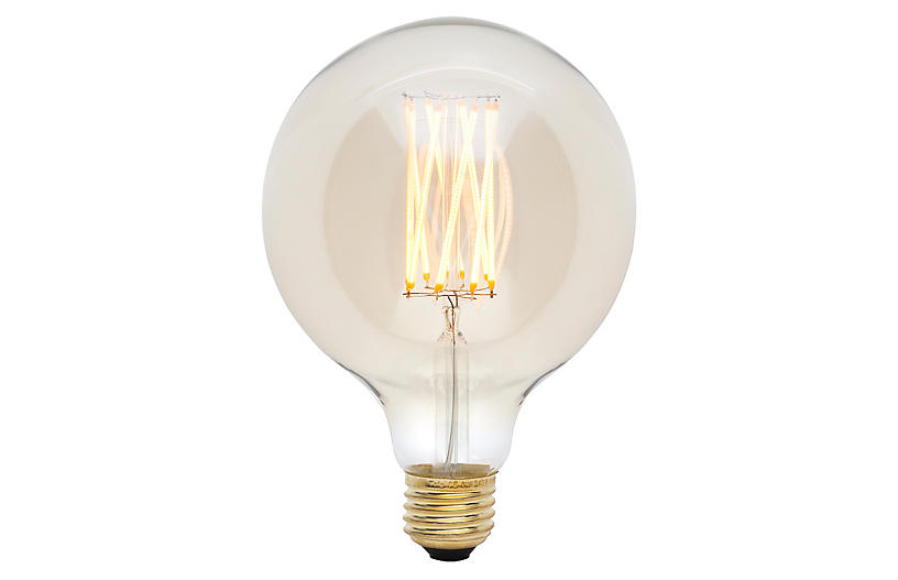 6W Gala Light Bulb, Tinted