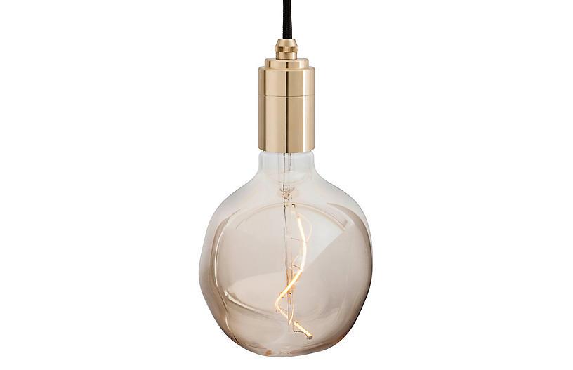 Voronoi I Pendant, Brass/Tinted