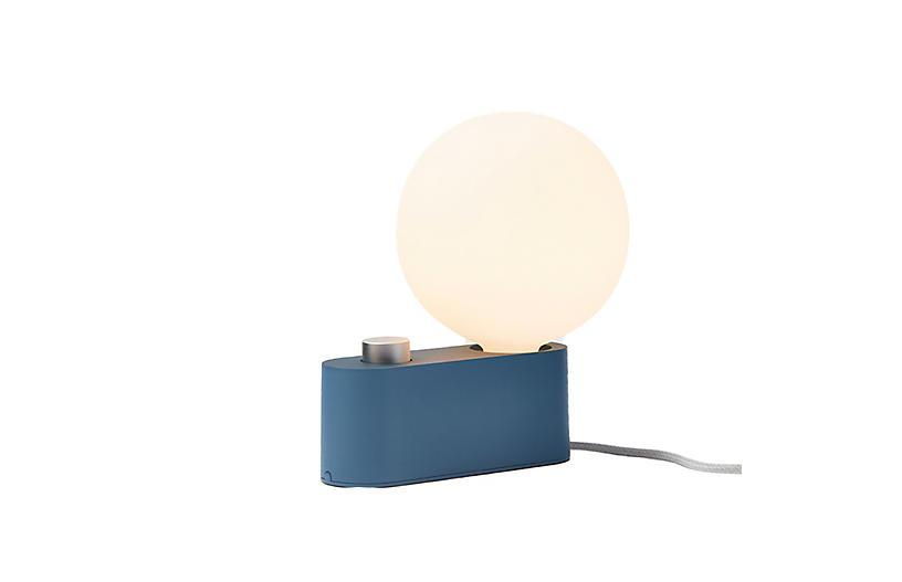 Alumina Table Lamp, Sapphire