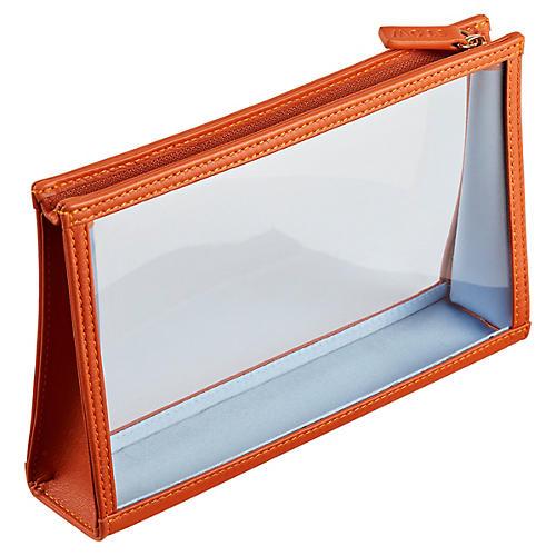 See-View Essentials Pouch, Orange