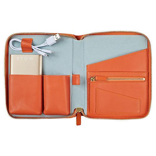 The Mini First Class Tech Case, Orange