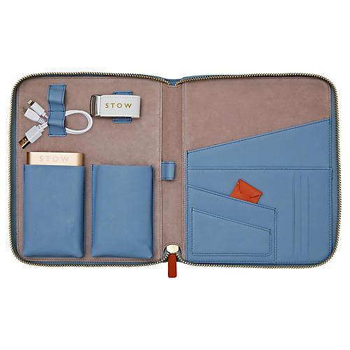The First Class Tech Case, Blue