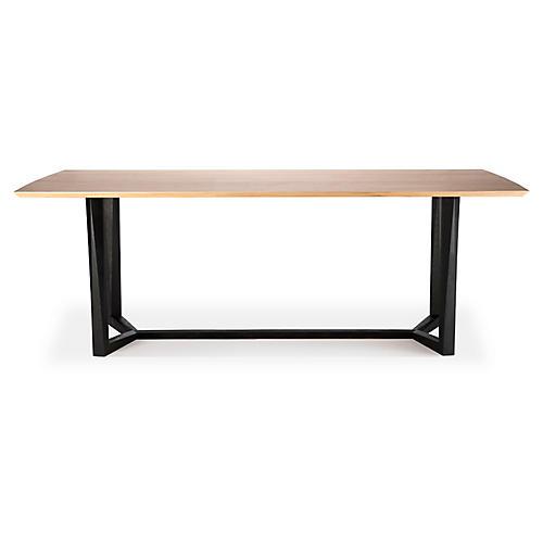 Facette Dining Table, Oak