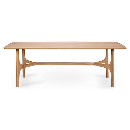 Nexus Dining Table, Oak