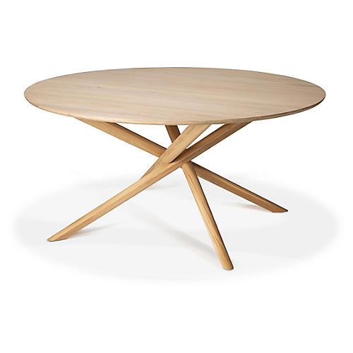 Mikado Oak Dining Table, Natural