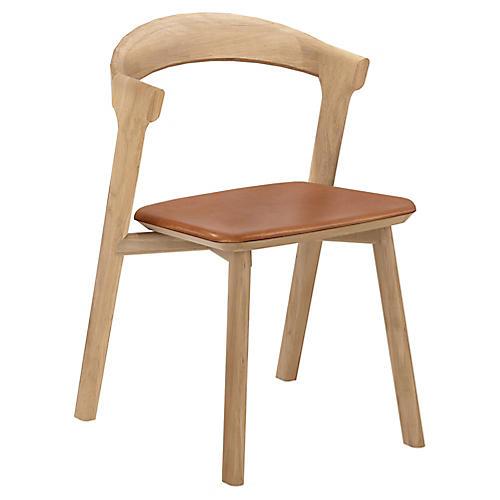 Bok Side Chair, Cognac