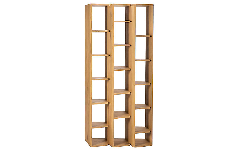 Stairs Bookcase, Oak