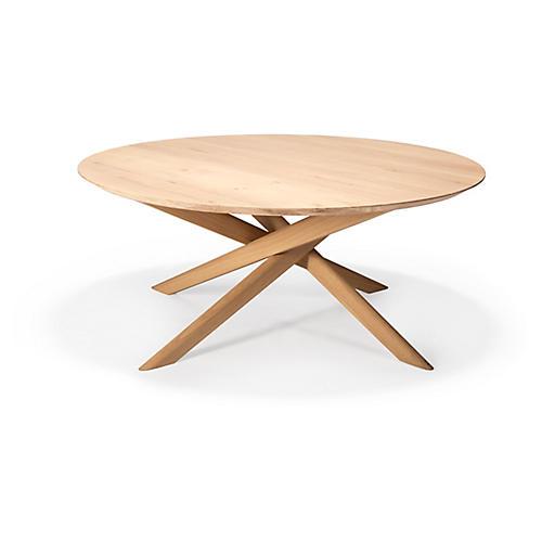 Mikado Oval Coffee Table, Oak