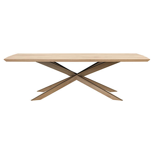 Mikado Rectangular Coffee Table, Oak