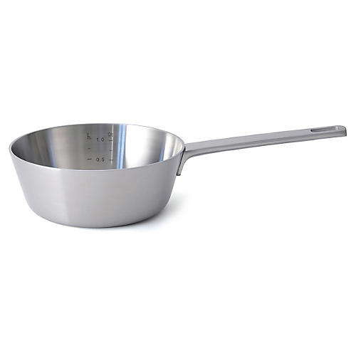 Ron Conical Saucepan, Silver