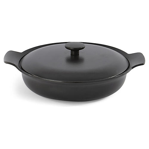 Ron Cast-Iron Skillet, Black