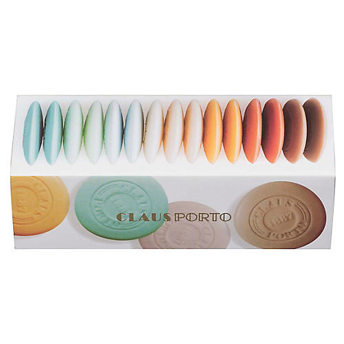 15-Pc Rainbow Guest Soap Sleeve